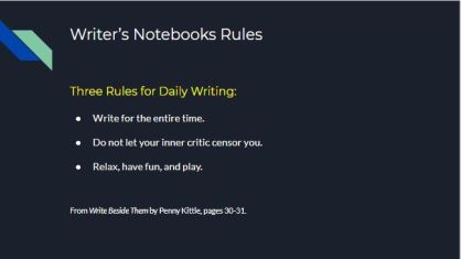 Kittle Writing Rules